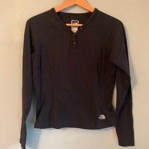 The North Face base layer vaporwick Henley